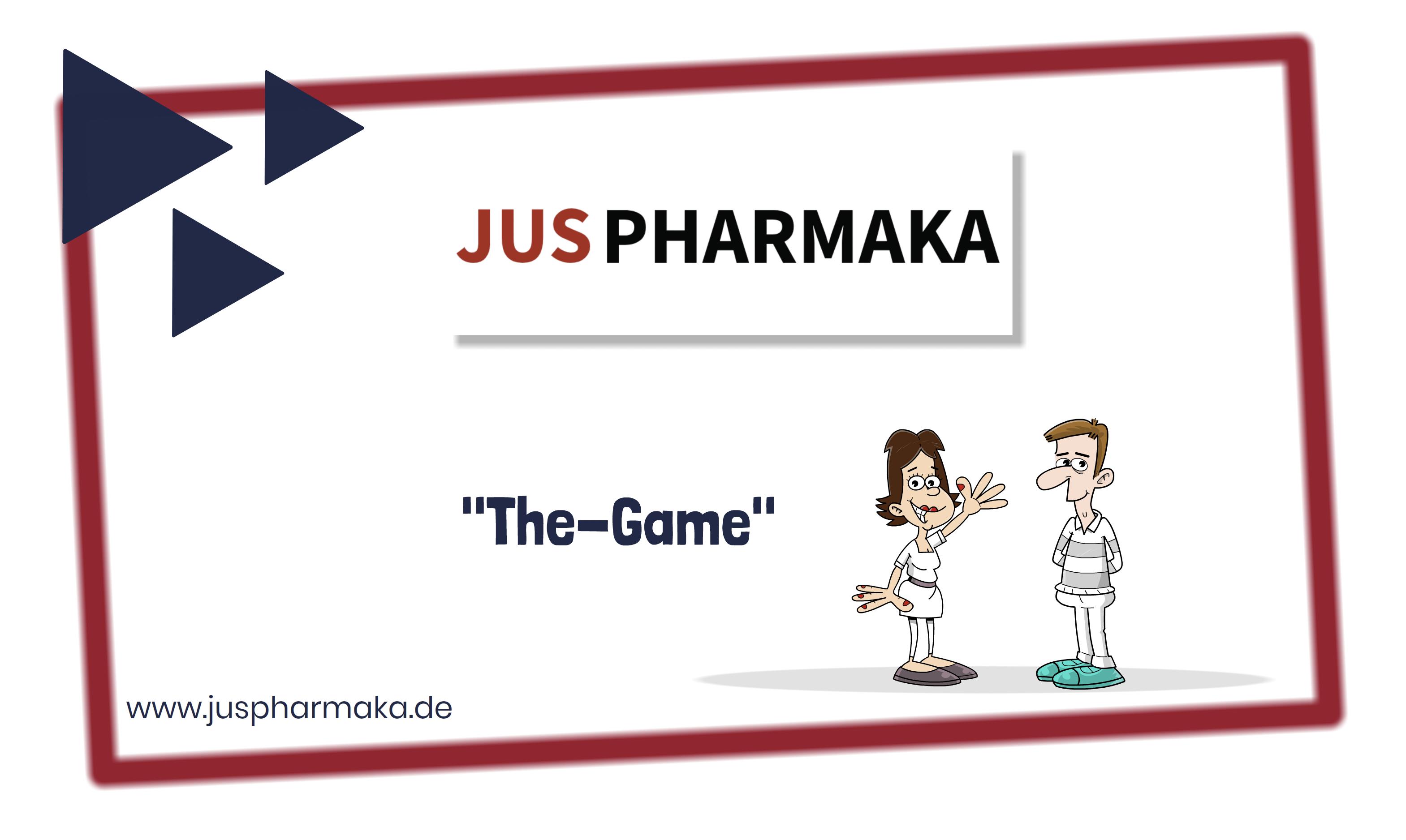 JUSPHARMAKA THE GAME